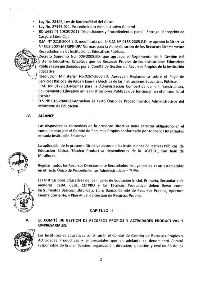 RD 0620 RECURSOS PROPIOS, ACTAS LIBROS Slide 3