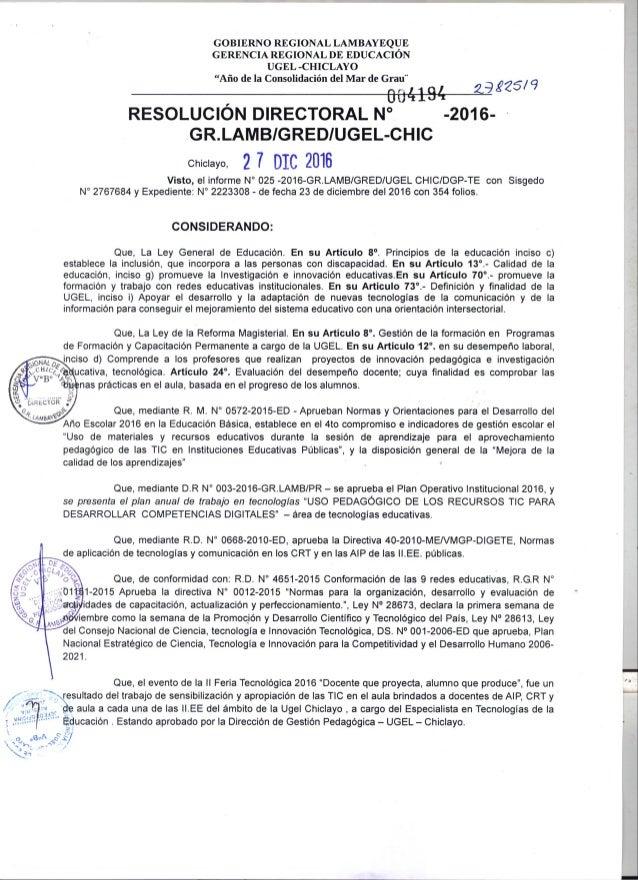 Resoluci n feria tecnol gica 2016 for Fiera tecnologica milano 2016