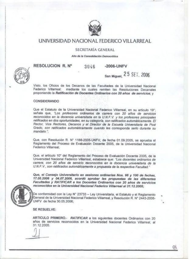 Resoluciones comunicado n° 03