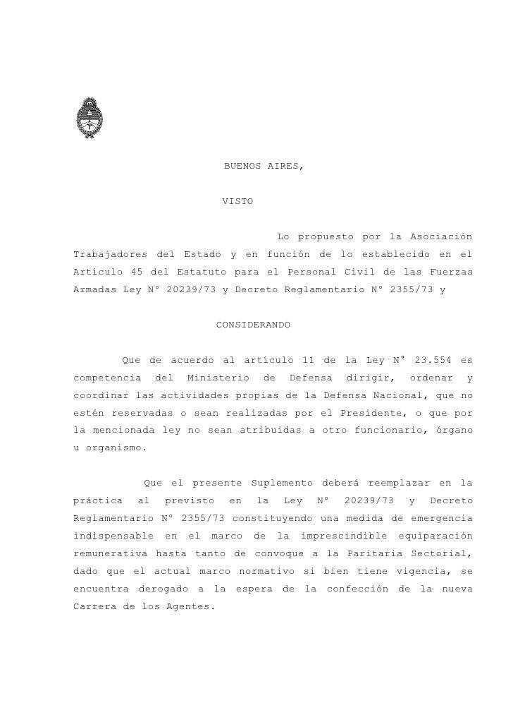 BUENOS AIRES,                                VISTO                                              Lo propuesto por la Asocia...