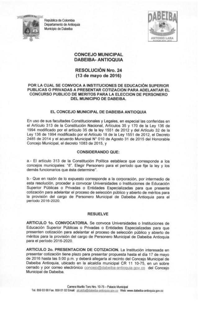 Resolucion n°24