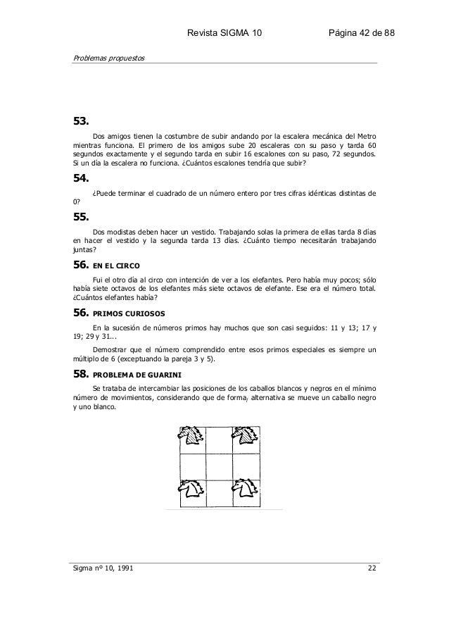 Resolucion problemas matematicos sigma 10 for Cuantos escalones tiene un piso
