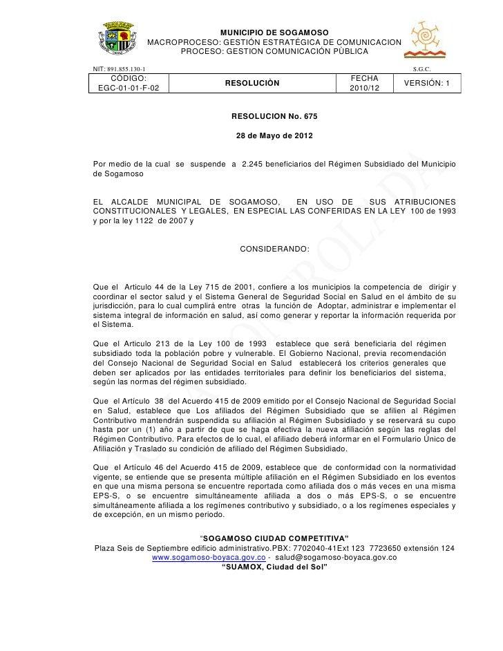 MUNICIPIO DE SOGAMOSO                     MACROPROCESO: GESTIÓN ESTRATÉGICA DE COMUNICACION                           PROC...