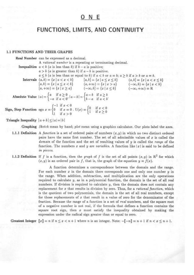 Resolução   leithold - vol. 01 e 02