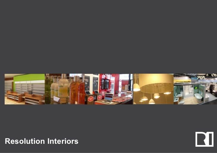 Resolution Interiors