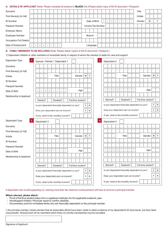 Resolution Health Medical Scheme 2014 Membership