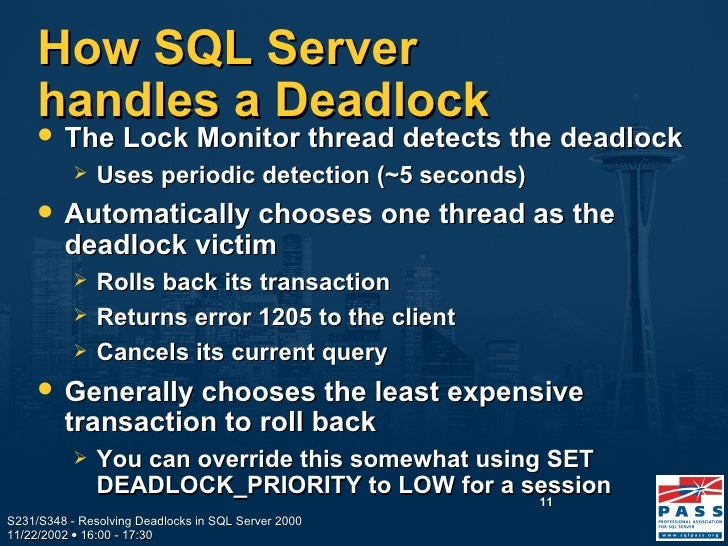 how to avoid deadlock in sql server