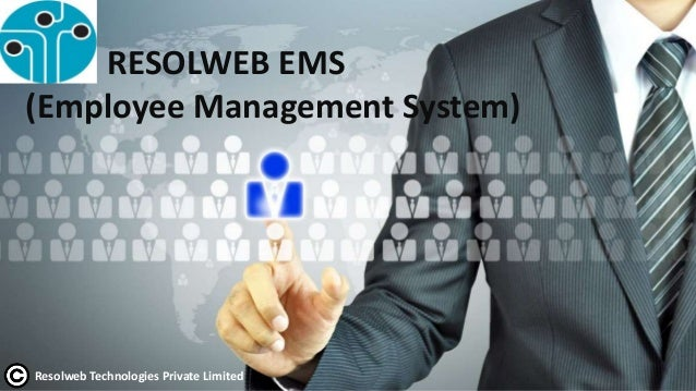 RESOLWEB EMS (Employee Management System) Resolweb Technologies Private Limited