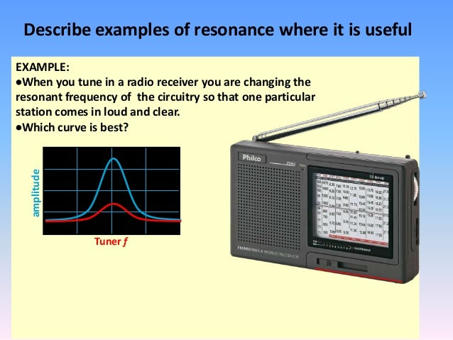 understanding the concept of resonance Rlc resonant circuits andrew mchutchon  to see the resonance e ect consider the ratio of the voltage across the reactive components to the input voltage.