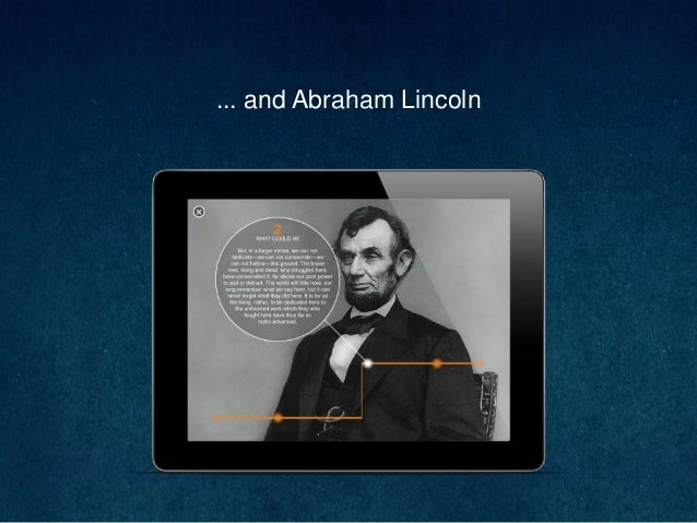 ... and Abraham Lincoln