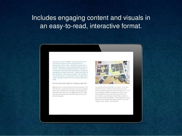 Includes engaging content and visuals in an easy-to-read, interactive format.