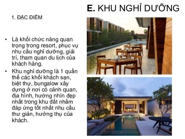 Mặt bằng tổng thể - Resort Six Senses ở Côn Đảo E. KHU NGHỈ DƯỠNG Khối nghỉ dưỡng chiếm phần lớn diện tích của khu resort....