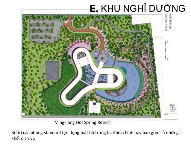 E. KHU NGHỈ DƯỠNG 3. PHÂN LOẠI Khối nghỉ dưỡng có 2 dạng là khách sạn và bungalow. a. Standard: Các khu standard trong Res...