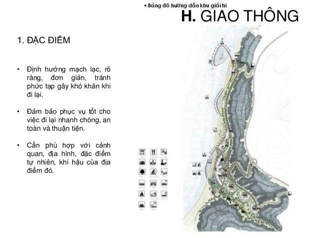 Các loại hình giao thông có trong Resort: Đường Ô tô xe máy Đường đi bộ- xe đạp Đường thủy Đường hàng không 1. ĐẶC ĐIỂM H....
