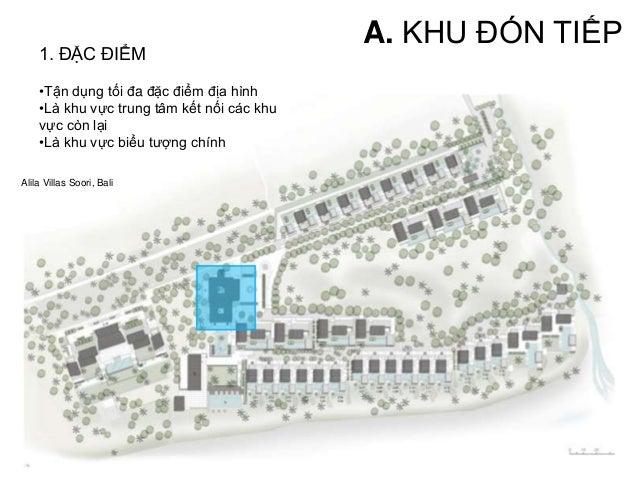•Tận dụng tối đa đặc điểm địa hình •Là khu vực trung tâm kết nối các khu vực còn lại •Là khu vực biểu tượng chính Rach vem...