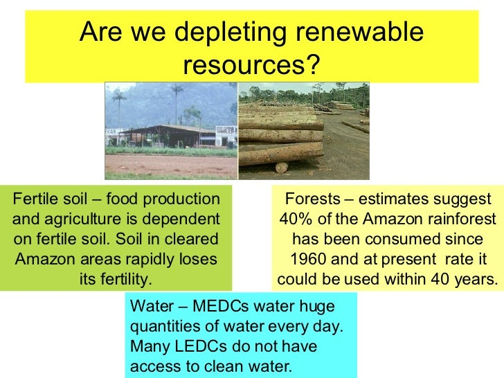 Is Fertile Soil A Renewable Natural Resource