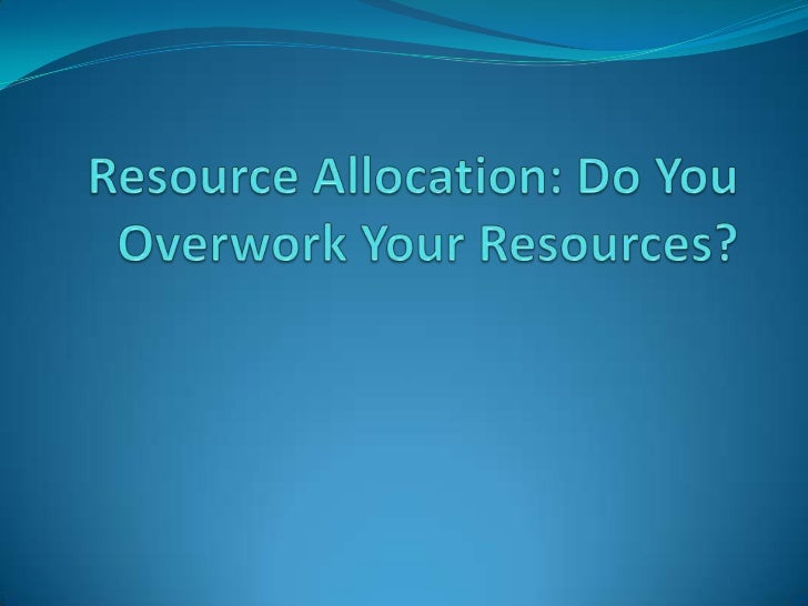 What is Resource Overallocation? Resource overallocation happens when assignments of  more tasks than your resources can ...