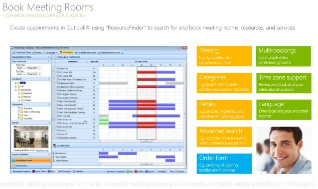 Meeting Room Booking Software for Outlook and Exchange