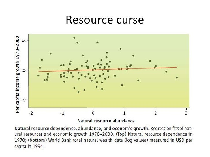 resource curse 1 rent seeking and the resource curse robert t deacon and ashwin rode september 26, 2012 abstract many countries receiving natural resource windfalls suffer from slow growth, low incomes and weak.