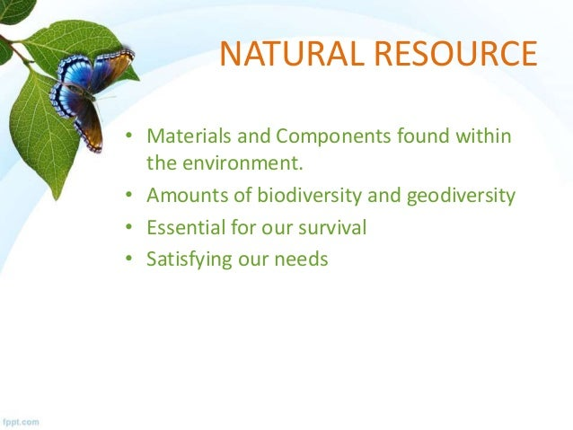Overuse Of Natural Resources Definition