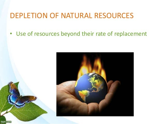 Causes Of Natural Gas Depletion