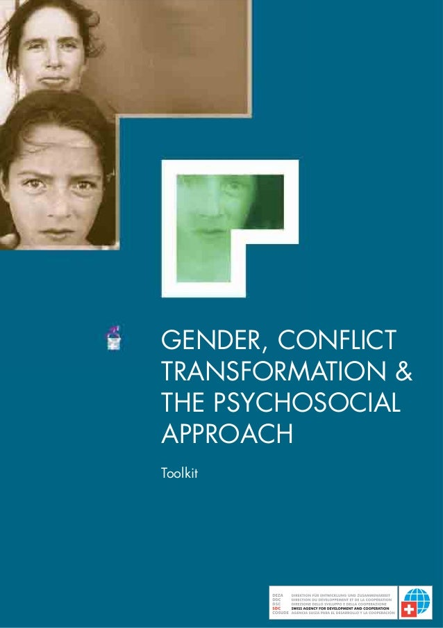 GENDER, CONFLICTTRANSFORMATION &THE PSYCHOSOCIALAPPROACHToolkit