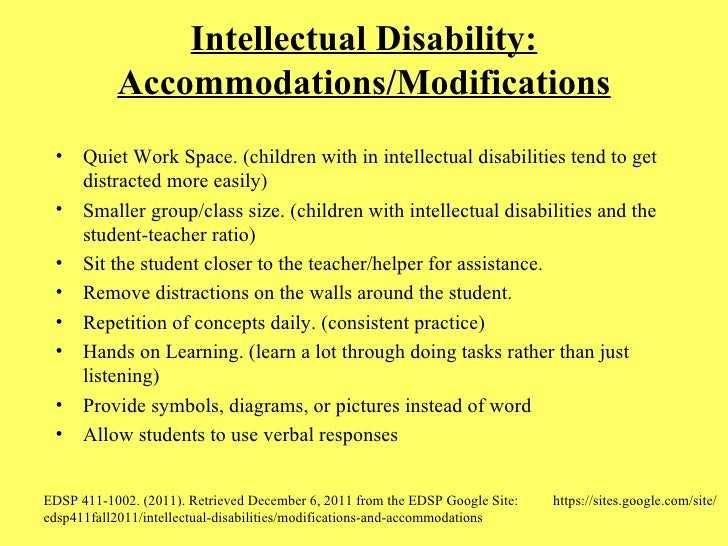 intellectual disabilities paper Individuals with intellectual and developmental disabilities in the criminal justice system and implications for transition planning tammy smith.