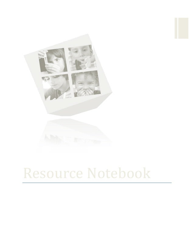 Resource  Notebook   The  Exceptional  Child  in  the  School      Created  by  Cie...