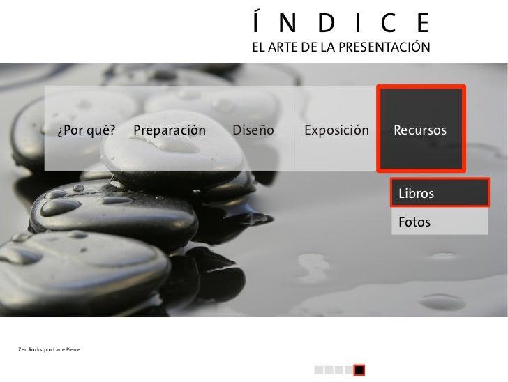 El arte de la presentacion (V): Recursos Slide 2