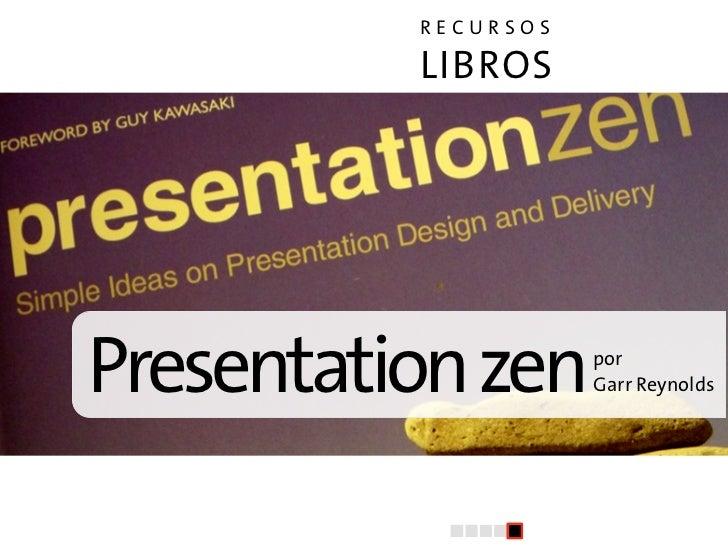 El arte de la presentacion (V): Recursos Slide 3