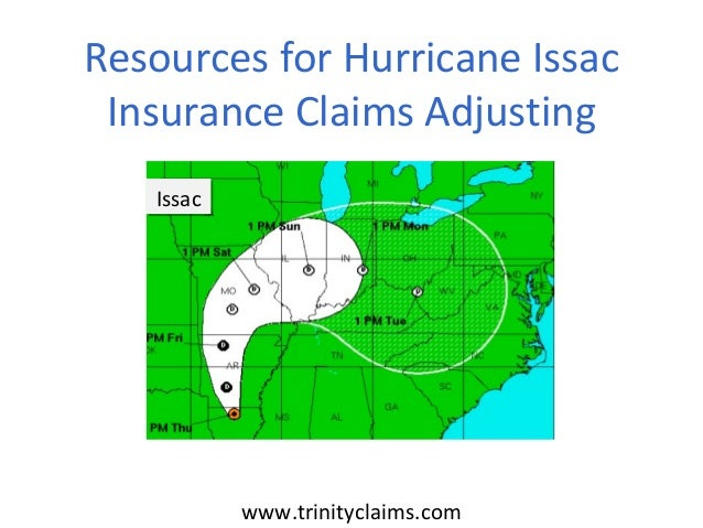 www.trinityclaims.comResources for Hurricane IssacInsurance Claims AdjustingIssacIssac