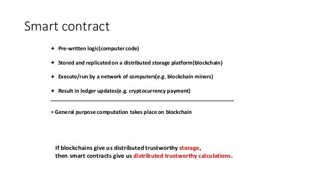 Resource Slides For Blockchain Related Question