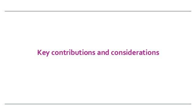 Keycontributionsandconsiderations