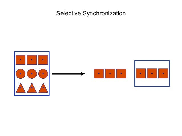 Selective Synchronization