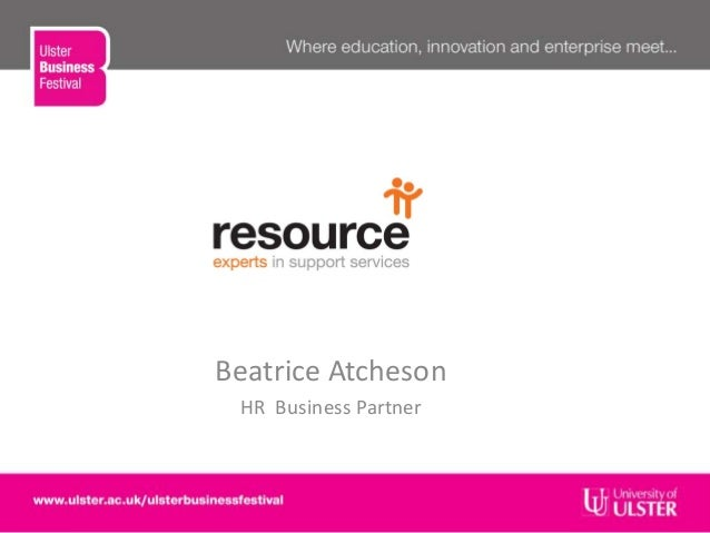 Beatrice AtchesonHR Business Partner