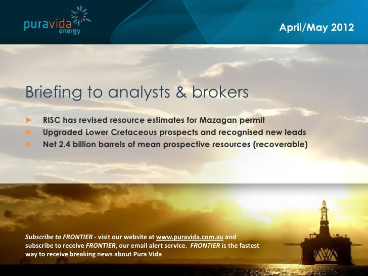 Pura vida energy asx pvd resource upgrade presentation for Pura vida pdf