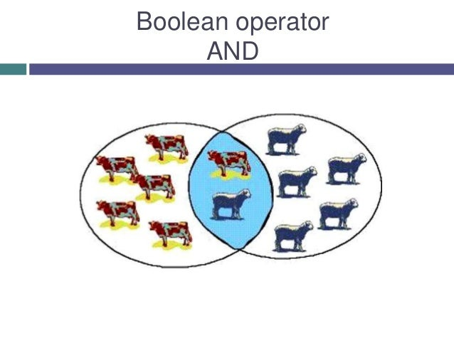 Boolean operator AND