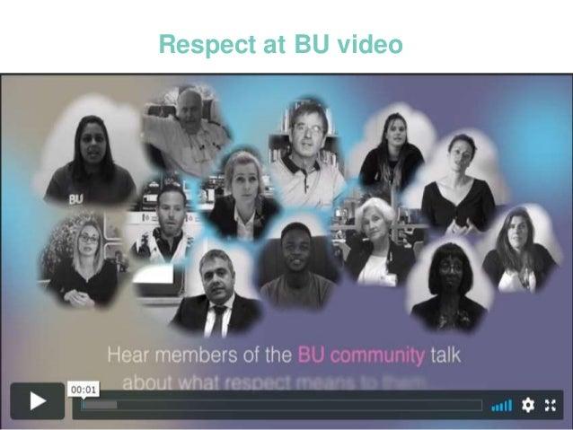 Respect at BU
