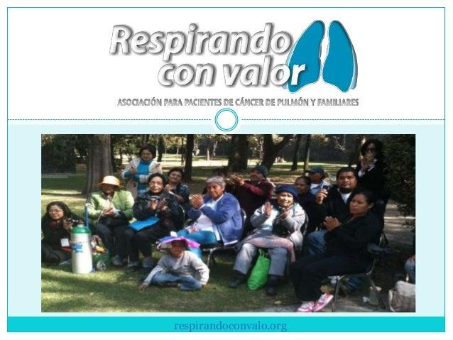 PRESENTACIÓNINSTITUCIONAL  respirandoconvalo.org