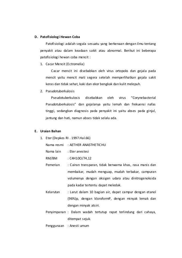 Deskripsi Mencit Mus musculus Galur Swiss-Webster