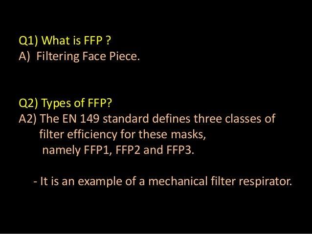 Respirators face masks Slide 2