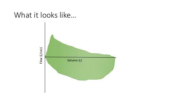 What it looks like… Volume (L) Flow(L/sec)