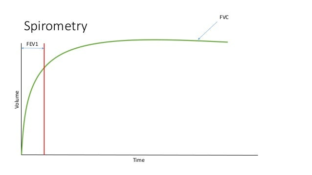 Spirometry Volume Time FEV1 FVC