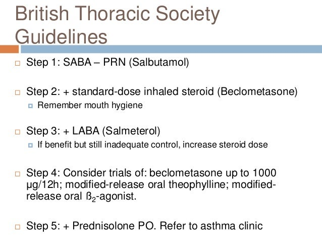 Asthma 8: Attack  Severe Attack  Can't finish sentences  HR >110  PEF 33 - 50% predicted  Life-threatening Attack  S...