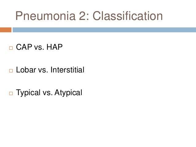 Pneumonia 7: Investigations