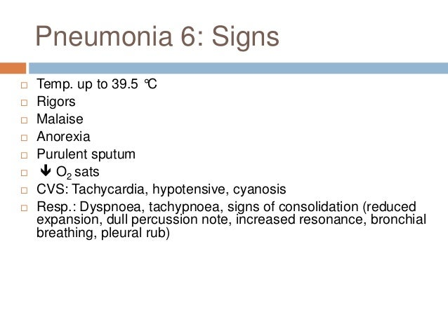 Pneumonia 9: Assessing severity • C • U • R • B • 65
