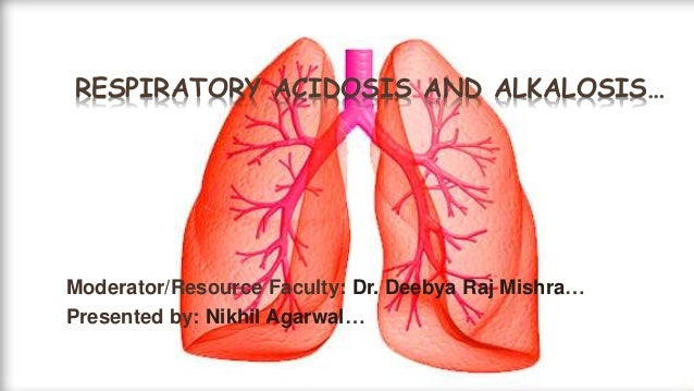 RESPIRATORY ACIDOSIS AND ALKALOSIS… Moderator/Resource Faculty: Dr. Deebya Raj Mishra… Presented by: Nikhil Agarwal…
