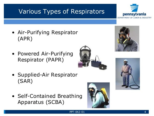 Respiratory Of Labor Department Pennsylvania A… Protection Training By