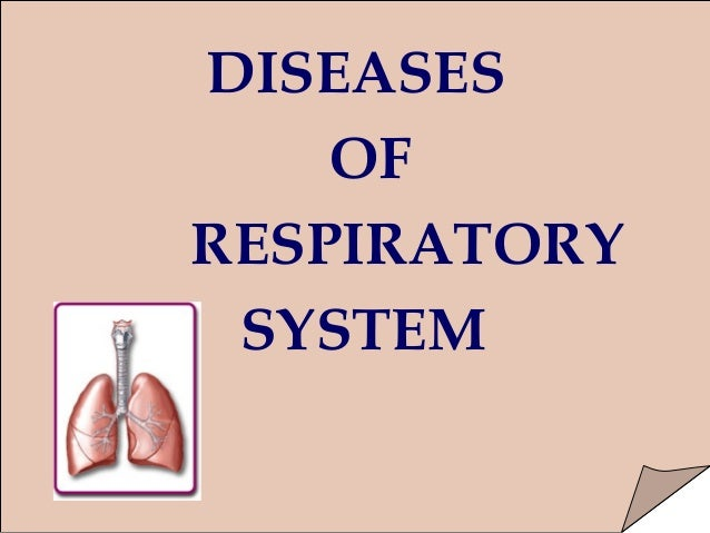disease of the respiratory system essay Read this science term paper and over 87,000 other research documents asthma: disease of the respiratory system asthma: disease of the respiratory system.