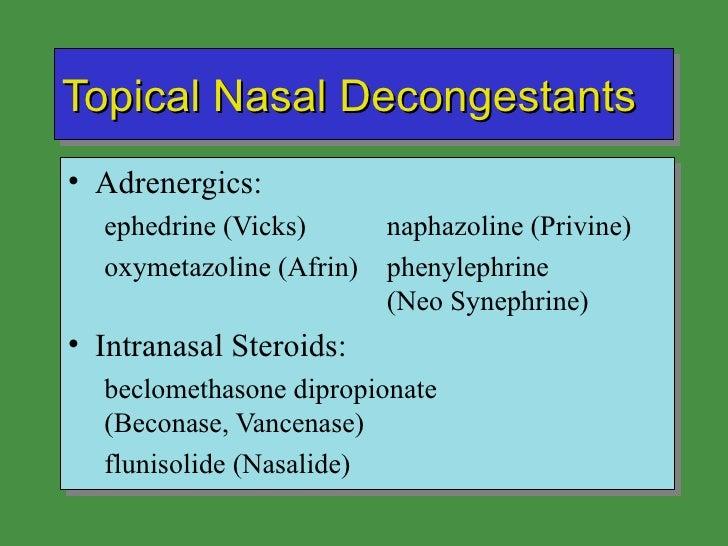 Respiratoy drugs outline